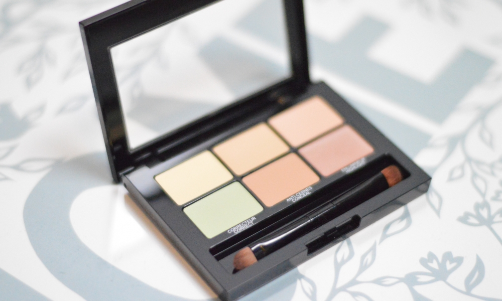 Maybelline Master Camo: colour correcting concealer.